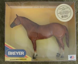 Sample Breyer Horse for Harness