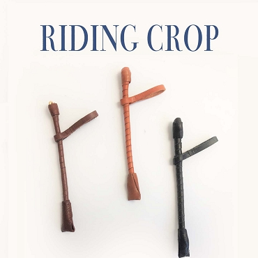 Riding Crop Shown in 1:6 Scale
