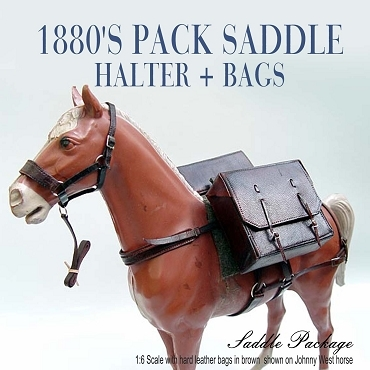 1880's Pack Saddle and Halter Set w/ Bags