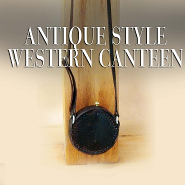 Antique Style Western Canteen