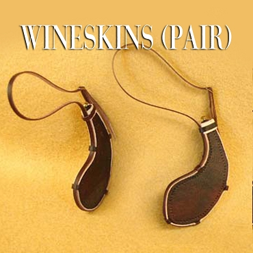Custom made Wineskin Set.